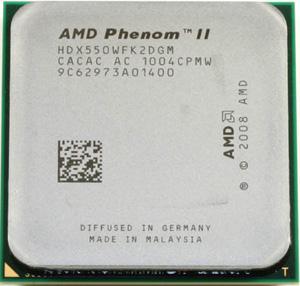AMD Phenom II X2 550 - HDX550WFK2DGM