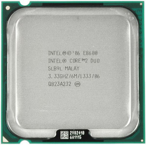 Cpu Intel E8600