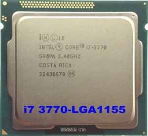 Cpu intel i7-3770