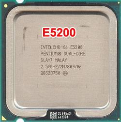 Cpu Intel E5200