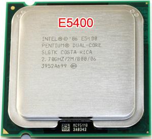 Cpu E5400