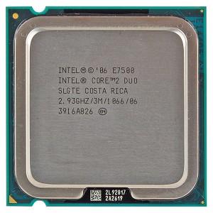 Cpu E7500