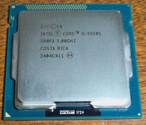 Cpu intel i5-3550s