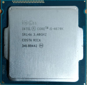 پردازنده i5-4670K