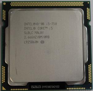 Cpu Intel i5-750