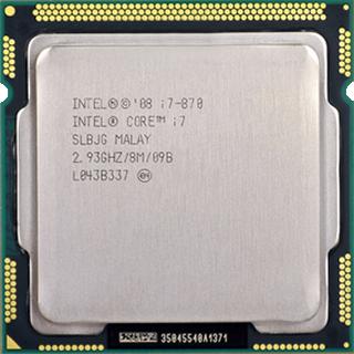 Intel® Core™ i7-870 Processor