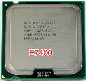 Cpu Intel E7400