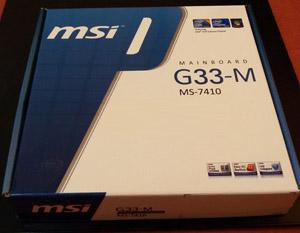 MSI G33-M MS-7410